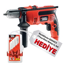 Black-Decker KR604CRES 600Watt 13mm Darbeli Matkap